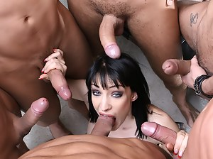 Best HD Gangbang Porn Pictures