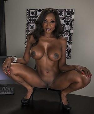 Best HD Big Black Tits Porn Pictures